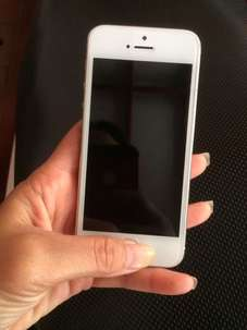 iphone 5 Silver 32GB Mulus Parahhhh