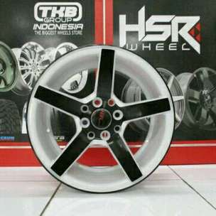 NE3 JD265 HSR R15X7 H8X100-114,3 ET33 WHITE BLACK