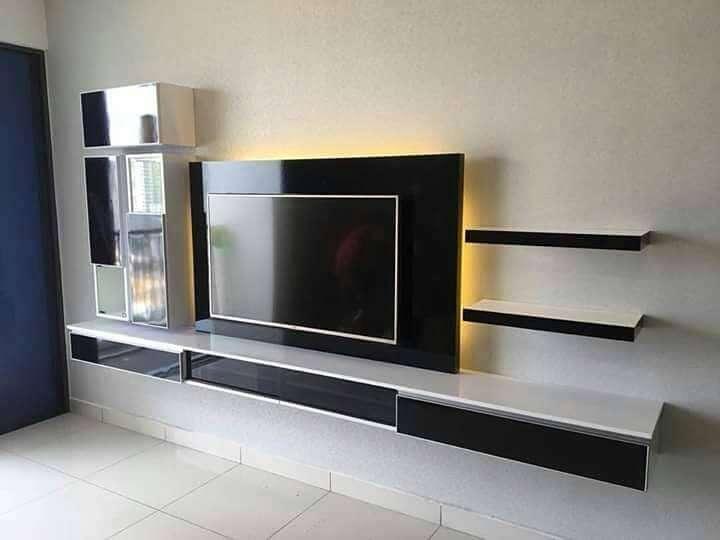 Backdrop Tv Rak Tv Minimalis Murah Dan Berkualitas Kota Pasuruan Mebel 758343886