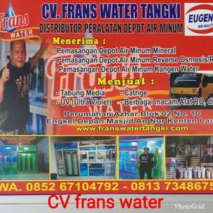 agen filter air dipalembang