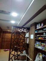 Fully designed studio like shop is availble for rent