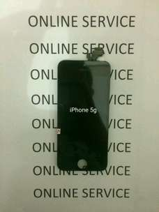 LCD iPhone 5 (Free Pasang + Tampered Glass)
