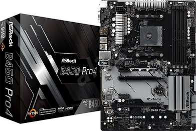 Motherboard l Mobo AMD ASROCK B450 PRO4 | By Astikom