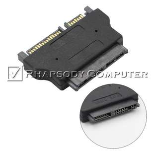 SATA 22 Pin Male to Micro SATA 16 Pin Female 1.8 Inch Adapter