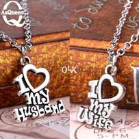 My Husband necklace set
