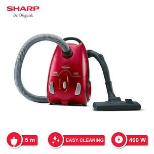 Vacuum cleaner Sharp penghisap debu low watt rendah vacum vakum dry