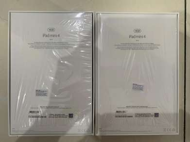 Jual 2 Unit Ipad Mini 4 Wifi Only 16 Giga Gold And Grey Super Mulus