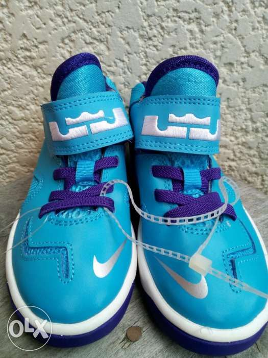 the latest 0d23a 36e22 Nike soldier TD toddler Lebron James child VII baby shoes Size 9c ...