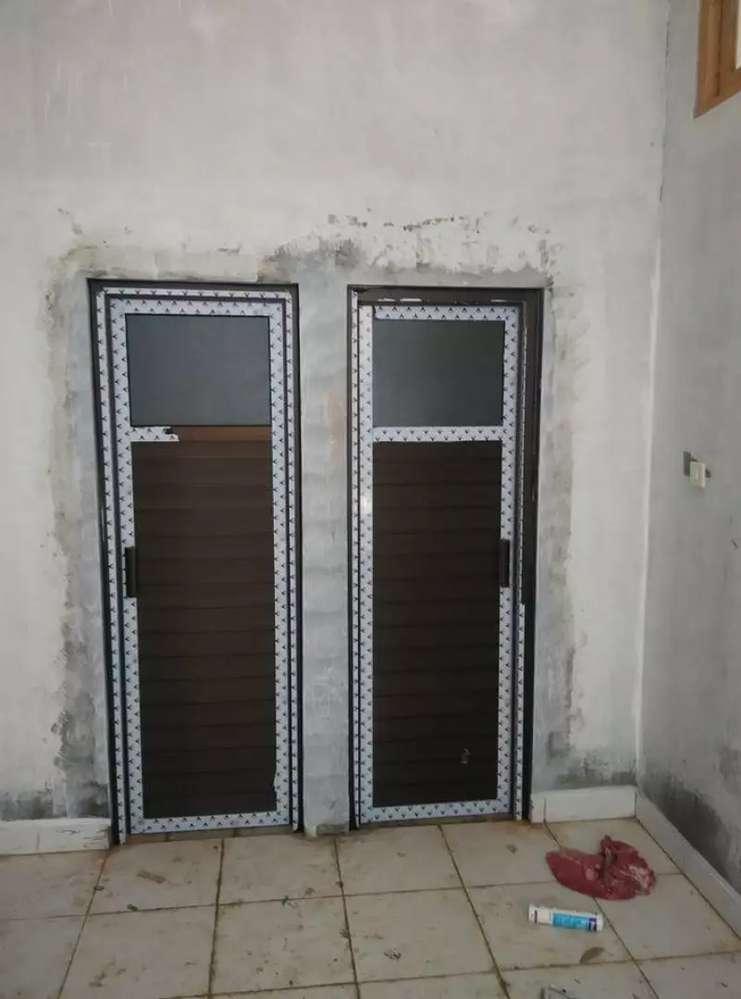 Pintu Kamar Mandi Pintu Koboi Pintu Aluminium Awet Anti Rayap Keropos Perlengkapan Usaha 764765639
