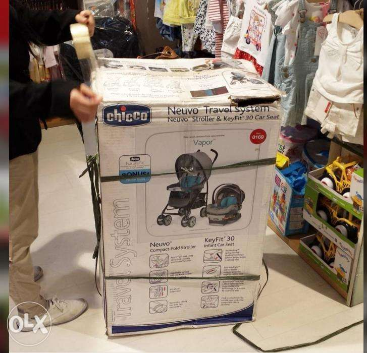 For Sale Chicco Neuvo Travel Systemstroller And Baby Car Seat In