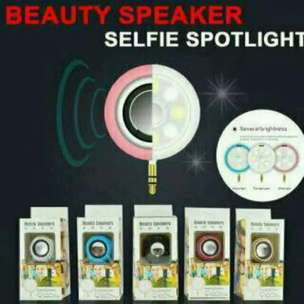 Beauty speaker+selfie lamp 2in1