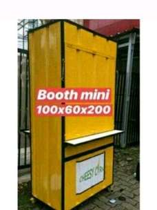 booth mini container,booth jualan,boot thaitea,,dll