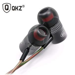 QKZ Balanced Professional Bass In-Ear Earphones with Microphone