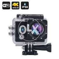 4K Ultra HD Action Camera with Wifi,Sports Action Cam import from UK