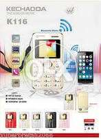 New box pack credit card size mobile phone