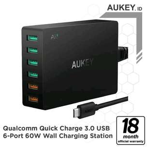AUKEY 60W 6port wall charger ORI