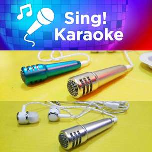 Mini Mic Earphone for Karaoke Sing Smule / Headset Karaoke