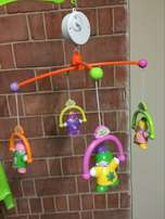 musical baby cot mobile w..., used for sale  Gurgaon