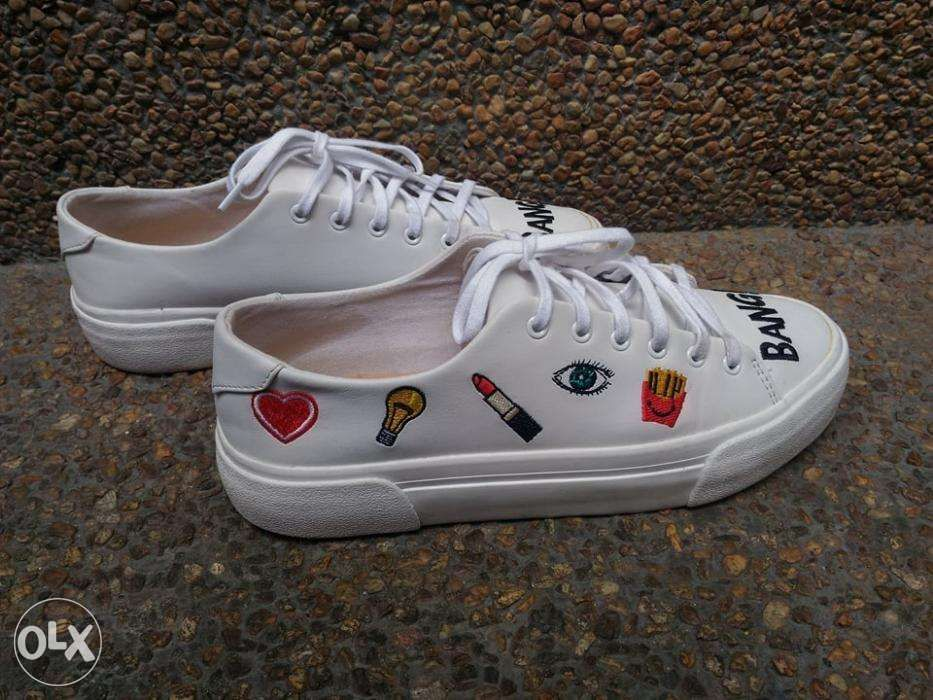 3cc3fc7e6 ... Pull and Bear Leather Shoes I Zara Lacoste Converse Vans Nike Adidas ...