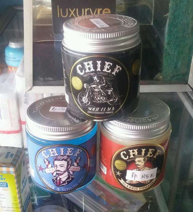 pomade chief solid water based