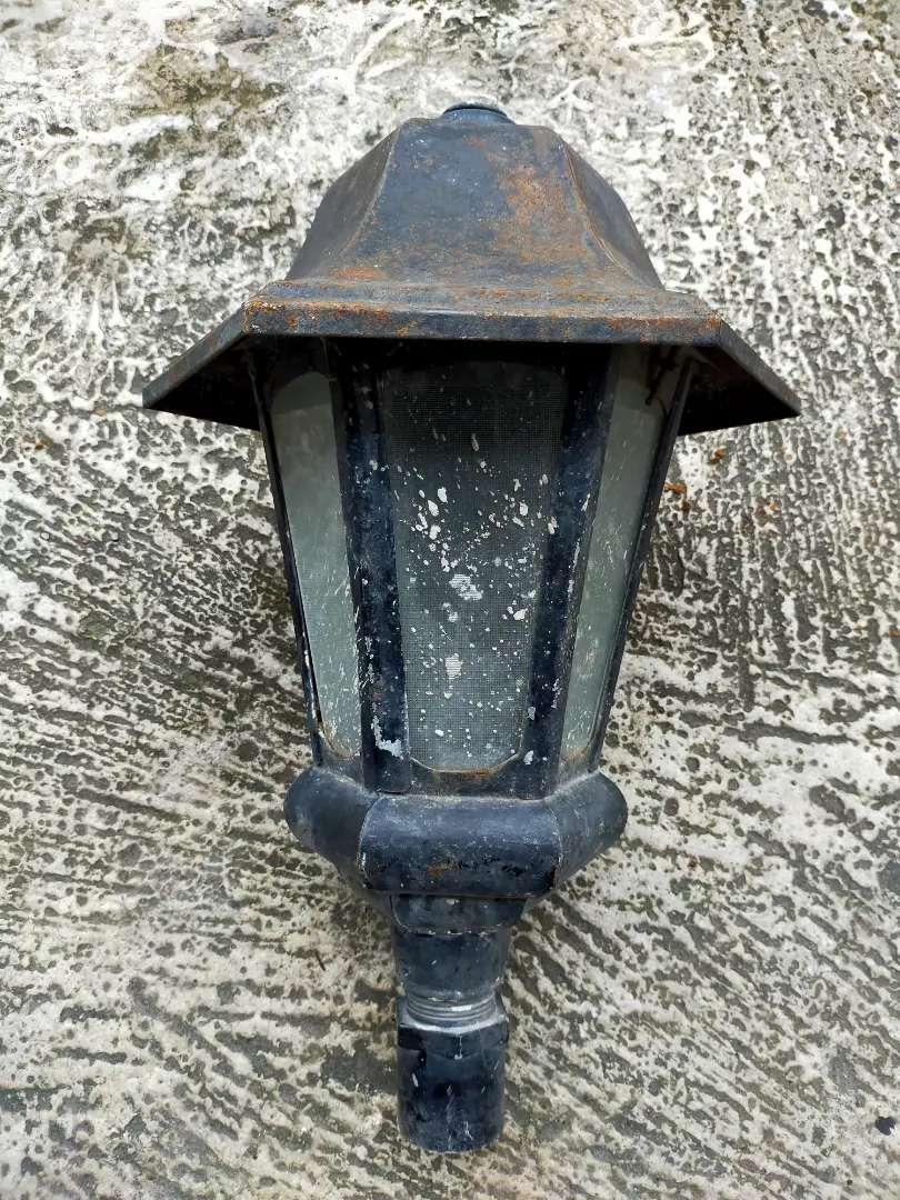 Lampu Taman Outdoor Vintage Full Besi Dan Kaca Lampu 814114229