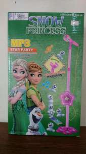 Snow Princess microphone toy