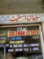 Shop for sell ground floor arshi shopping mall federal b area block 07
