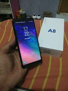 Samsung a8 2018 4G dual mulus fulset resmi ky aamsung s7edge note 7