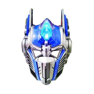 Topeng Transformer Optimus Prime LED Mask Topeng Mainan Superhero Anak
