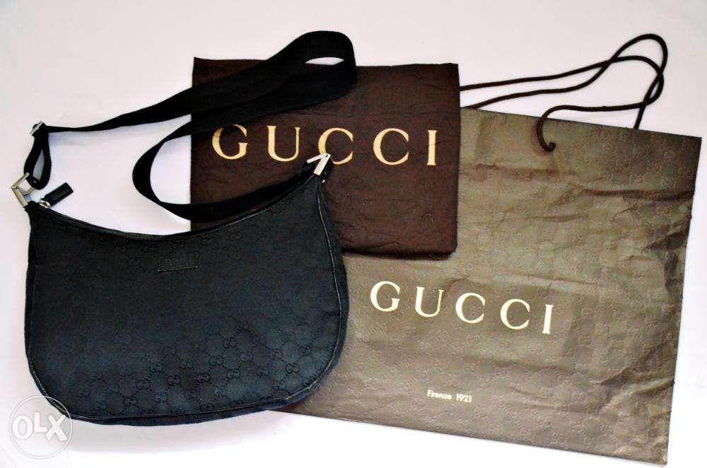 90584ac8aa3 Authentic Gucci Shoulder Messenger Sling Bag prada louis vuitton rolex ...