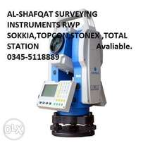 Total station auto level Ds-32 .stonex. rex complete with all accessor