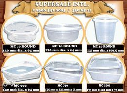 Microwavable Plastic Food Bo