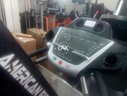 Fit n flex treadmill 160kg supported heavy