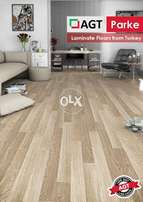 AGT BRAND NEW Laminated wooden floor.