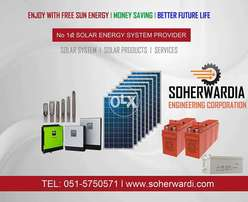 1000 watts l Complete Solar System with free installation. O33353O2578