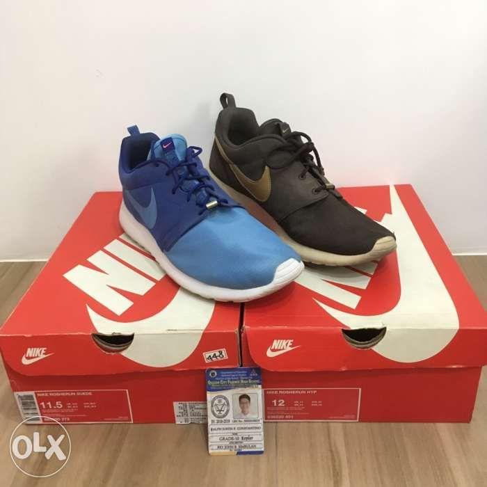 0df1260d9021 2 pairs of Nike Roshe Run not Adidas Stan Smith NMD Fila Disruptor ...