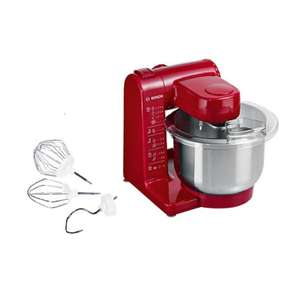 Bosch MUM44R1 Kitchen Machine Standing Mixer - Red 500 watt