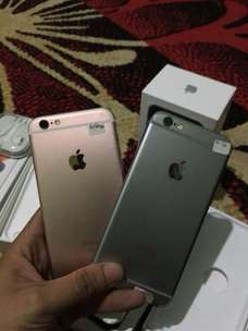 Ready Iphone 6s 64gb Dan 16 Gb Like New Full Set Original