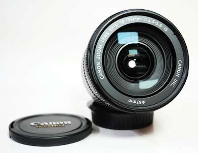 Canon EF-S 18-135mm F3.5-5.6 IS Mulus