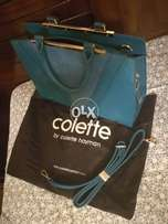 Colette Branded Bag Brand New Blue Color