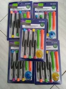 Obeng kit 9 in 1 Tools teknisi Iphone,macbook,xiaomi,asus,samsung,oppo