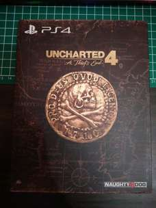 Uncharted 4 A thief's end special edition Ps4