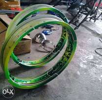 Rust less rims for 70 and 125 all bikes
