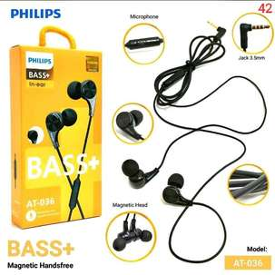 Handsfree PHILIPS 036 In-Ear BASS+ Magnetic
