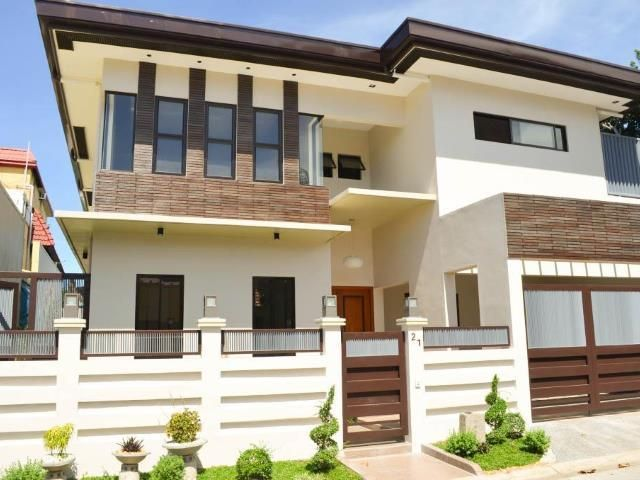 zen design 4 bedroom elegant house and lot in bf homes paranaque in rh olx ph house and lot design bungalow house and lot design bungalow