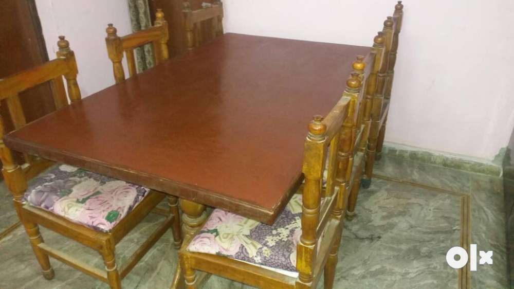Dining table with 6 chairs in good condition Jaipur  : images1000x700inslot4filenameo6xk34pfhunf2 IN from www.olx.in size 1000 x 562 jpeg 42kB