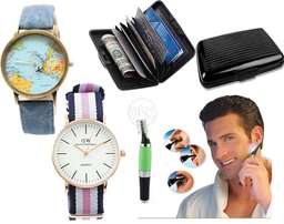 Micro Touch max Trimmer+Alluma Wallet+World Map watch+DW watch