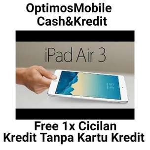 TimeLong Cicilan [iPad Air 3] Wifii+Cell 256GB New Original
