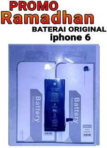 baterai batrey iphone 6 original