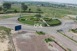 E Block Developing 5 Marla plot available in University Town Islamabad